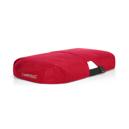 Cover for soft carrybag in red