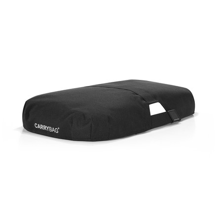Cover for soft carrybag in black
