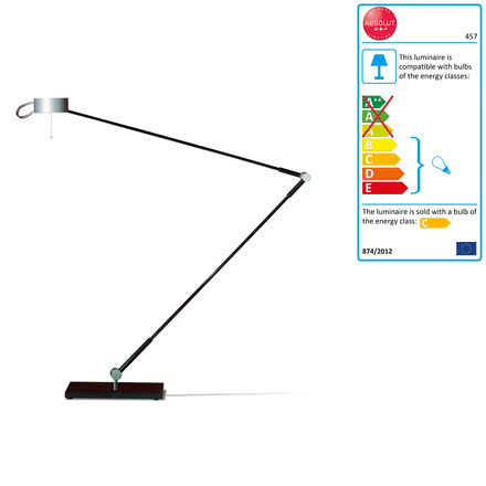 Absolut Lighting - desk lamp, table foot, 50W
