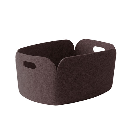 Muuto - Restore storing basket, brown-grey - single image