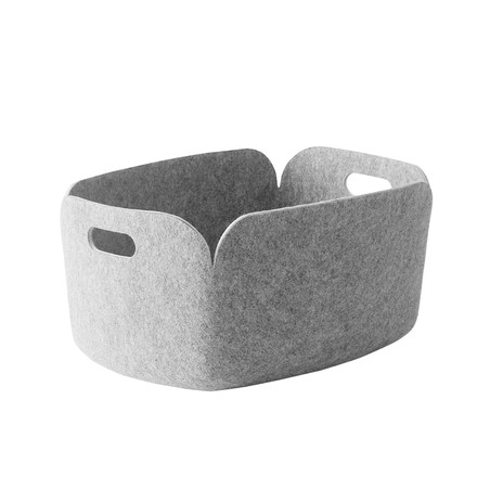 Muuto - Restore storing basket, light-grey - single image