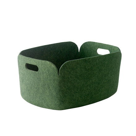 Muuto - Restore storing basket, green - single image