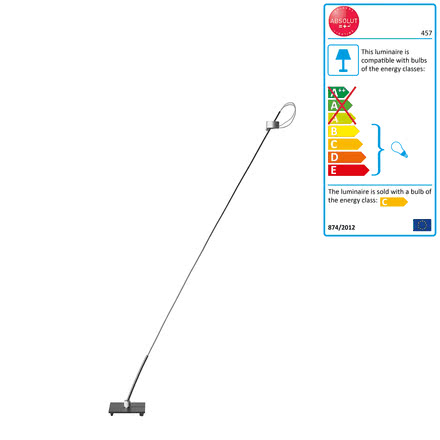 Absolut Floor Lamp 50 Watt 130 cm