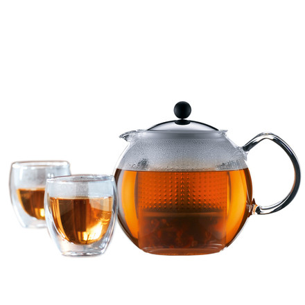 Bodum Assam Tea-Set (tea-maker and glasses) special offer!