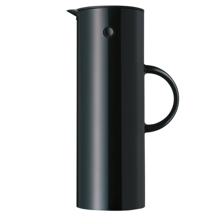Stelton insulated flask 1l black
