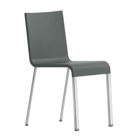 Vitra - .03 Chair - Frame powder coated, grey