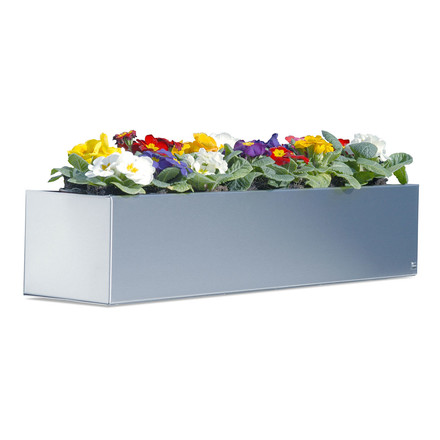 Radius-Design Flower Box made of stainless steel