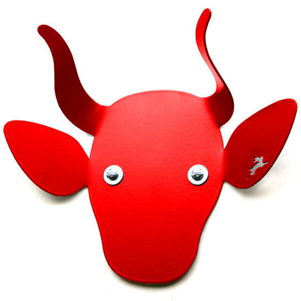 Haseform Animal Wardrobe Cow red