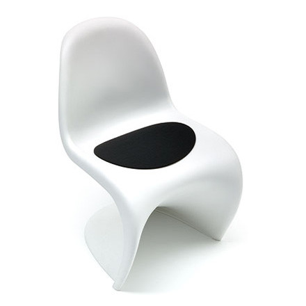 Hey Sign felt-cover Panton Chair