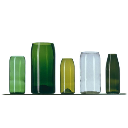 5-piece vase set by Franz Maurer for Artificial