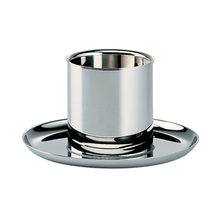 Alessi - Marianne Brandt Egg Cup, Stainless Steel - single image