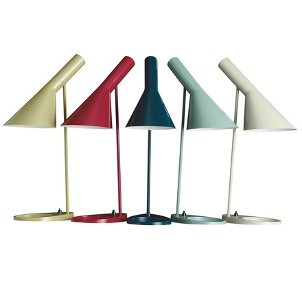 50 years Arne Jacobsen table lamp - special colours