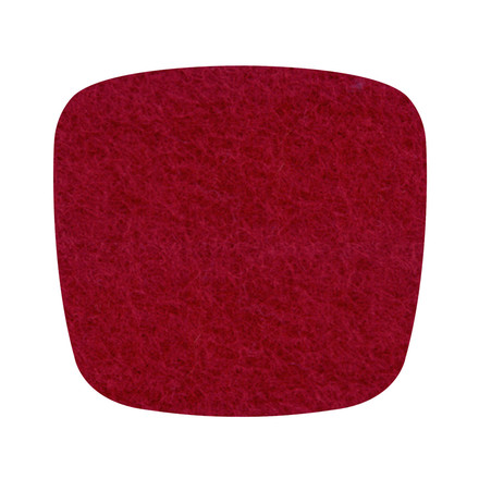 Hey Sign - felt cushion Eames Plastic Armchair, red 5mm - single image