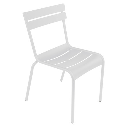 fermob Luxembourg Chair, stackable, white