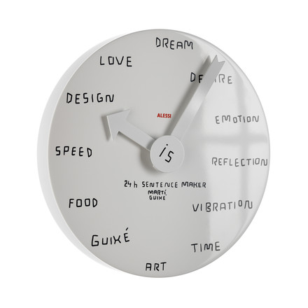 Alessi - 24h Sentence Maker Wall Clock