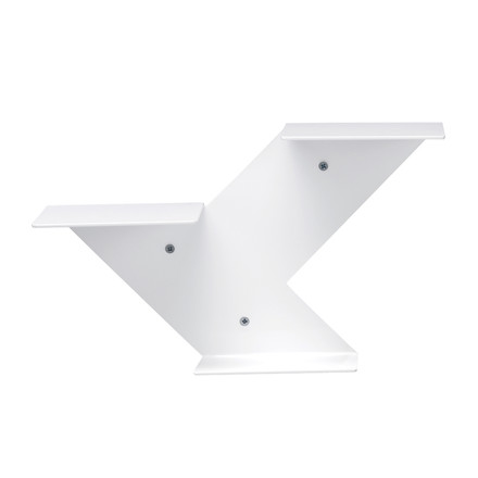 Fin shelf module, white