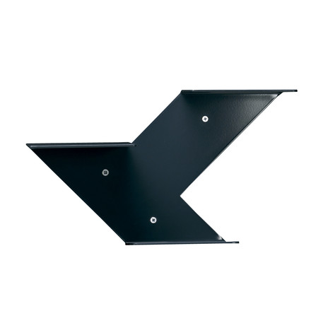 Fin shelf module, anthracite