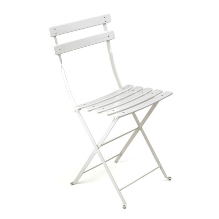Fermob - Bistro folding chair Classique, white