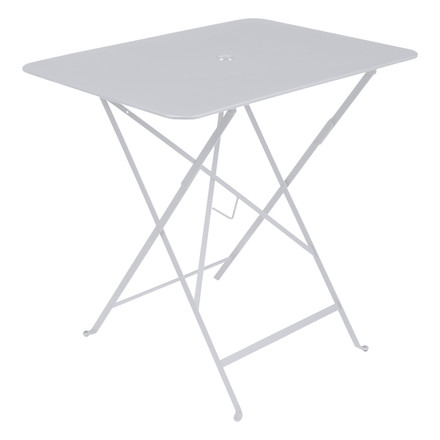 Bistro folding table, 77x57 cm, white