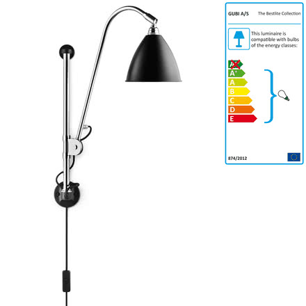 Bestlite - BL5 wall light, black