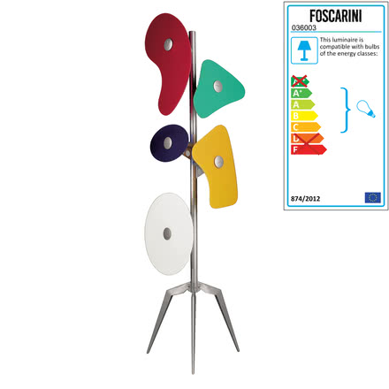 Foscarini - Orbital floor lamp, coloured