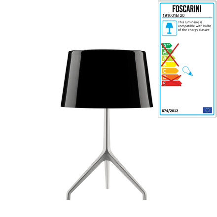 Foscarini - Lumiere XXL + XXS, white / black
