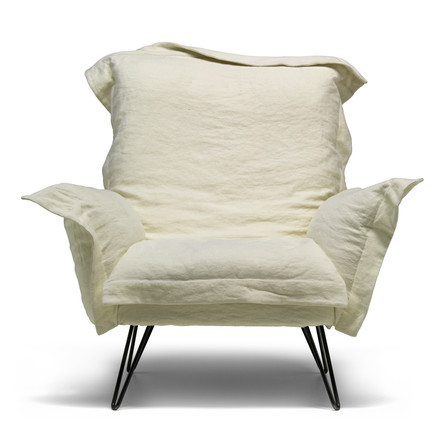 Diesel Cloud Scape armchair, bone white