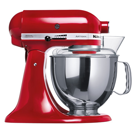 Artisan kitchen appliance , red