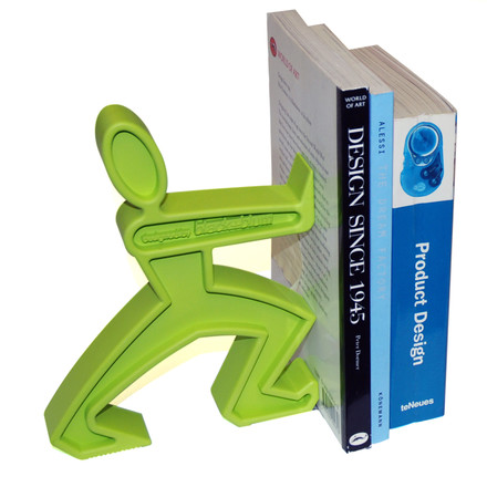 James - the bookend, lime