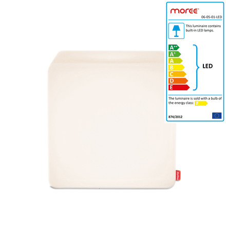 Moree Cube, white