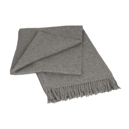 Elvang - Classic Plaider, Throws, light grey