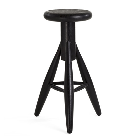 Artek - Rocket Stool, black