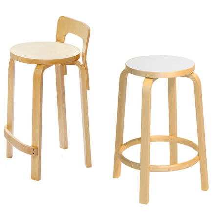 Artek - K65 Kitchen chair, group