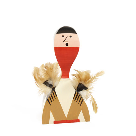 Wooden Dolls - No. 10