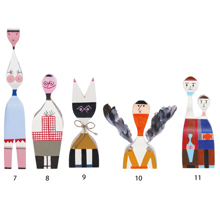 Wooden Dolls - group 7-11