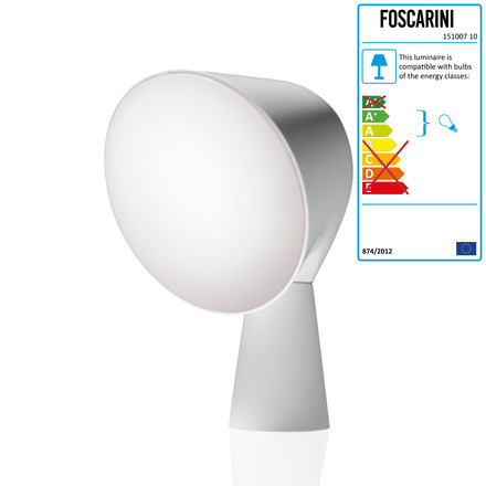 Foscarini - Binic Table Lamp, white