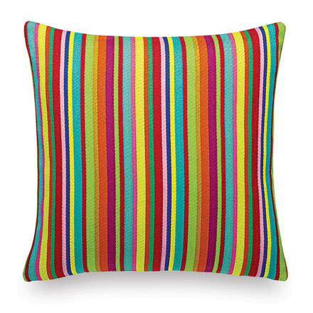 Vitra - Cushion Maharam: Millerstripe multicolored bright
