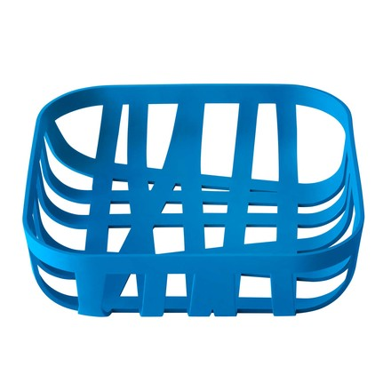 Muuto Wicker Bread Basket - blue