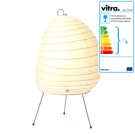 Vitra - Akari 1N Table Lamp