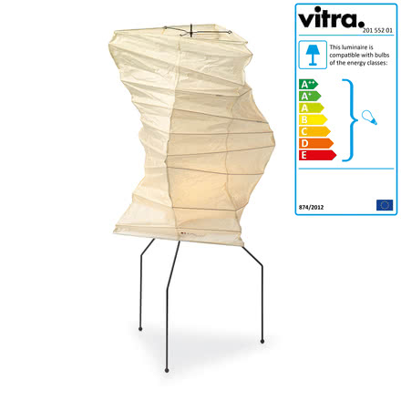 Vitra - Akari UF2-33N Table Lamp