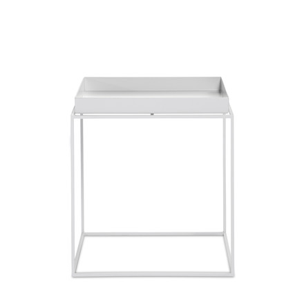 Hay - Tray Table square, 40 x 40 cm, white