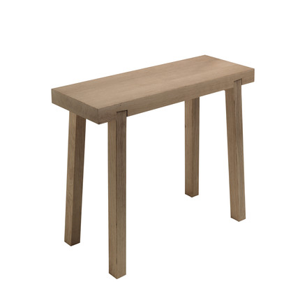 side by side - Schemel benchstool, oak wood