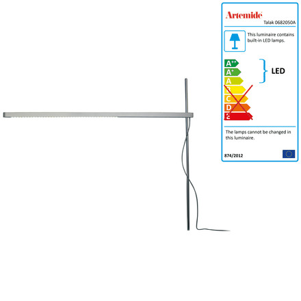 Artemide Talak tavolo LED - body