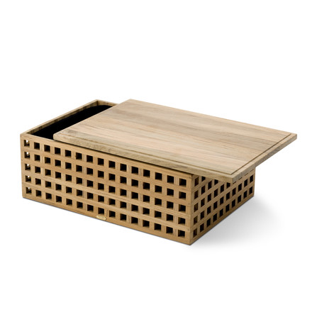 Skagerak - Pantry Bread Box made of teak wood