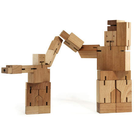 Cubebot areaware duo