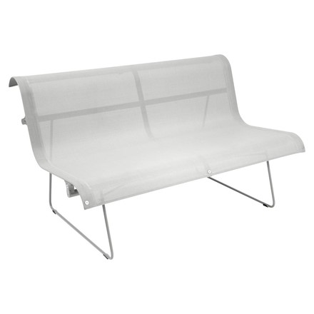 Fermob - Ellipse Bench for 2, cotton white