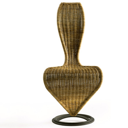 Cappellini - S-Chair - Wicker Front