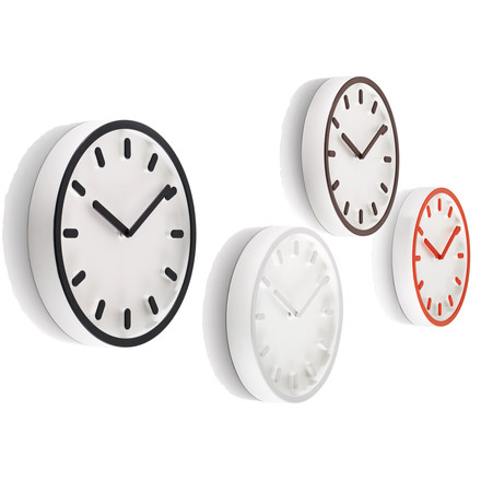 Group image: all colours of the Tempo Wall Clock