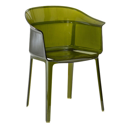 Kartell - Papyrus Armchair, olive green