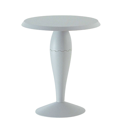 Single image: Miss Balù Bistro Table, Ø 64 cm, light grey